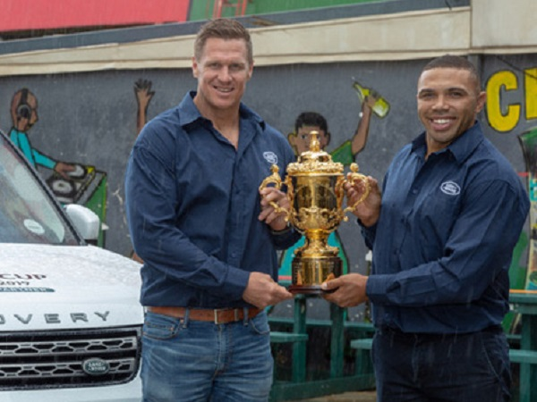Land Rover South Africa inspires fans ahead of the Rugby World Cup