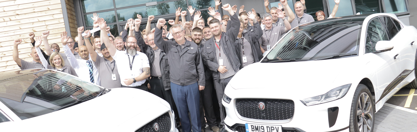 Battery Assembly Centre colleagues celebrate moving into their new home