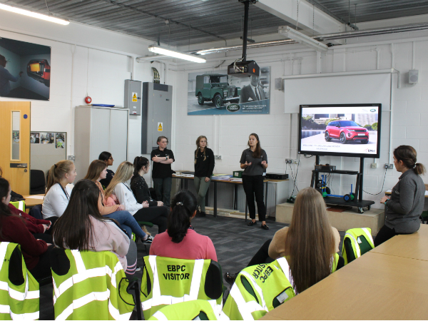 HALEWOOD INSPIRES MORE 'GIRLS INTO ENGINEERING'