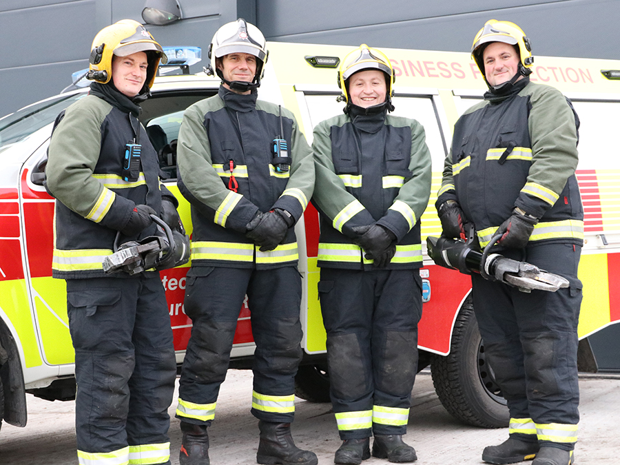 Firefighting and life-saving