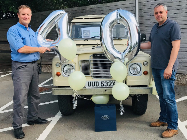 A SPECIAL SOLIHULL 40th BIRTHDAY