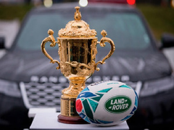 Land Rover brings the Webb Ellis trophy to South African rugby fans
