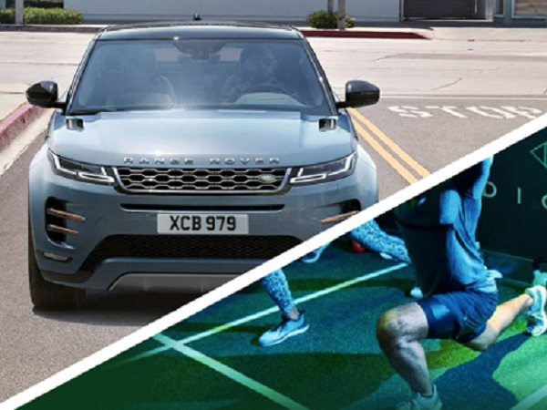 Getting a sweat on with the Range Rover Evoque