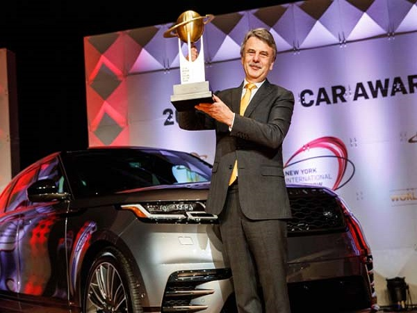 Range Rover Velar scoops World Car Design of the Year title