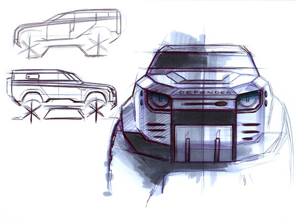 Land Rover Defender reimagined: Designing an icon for the 21st century