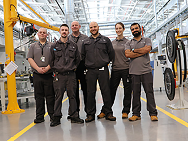 The EMC's Kaizen team supports Crank line efficiency