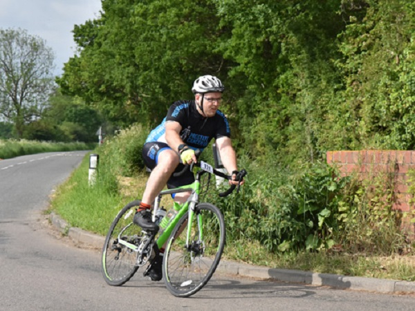 Sam Hall: Letting road cycling stop life from holding me back