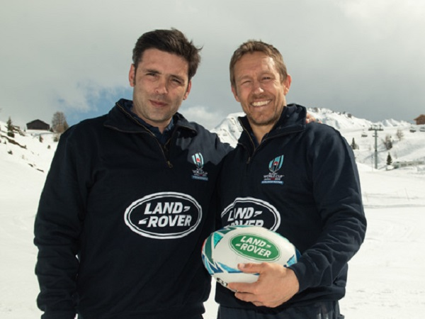 Land Rover hosts snow match to mark six months to the Rugby