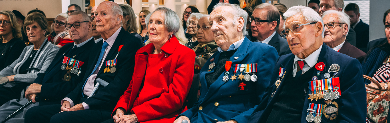 Castle Bromwich Hosts D-Day Veterans Christmas Party