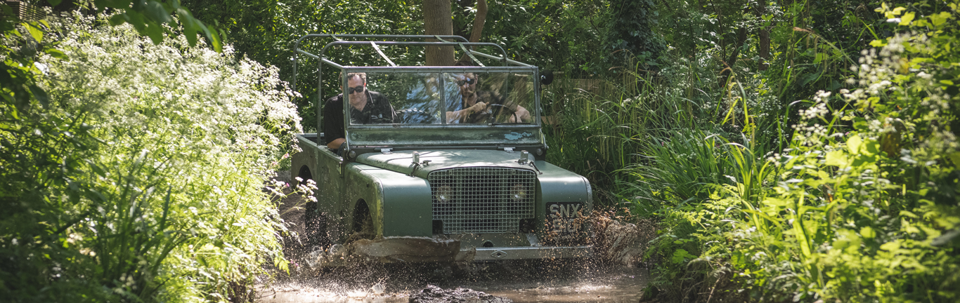 Original launch Land Rover and New Defender take the limelight at Goodwood Revival