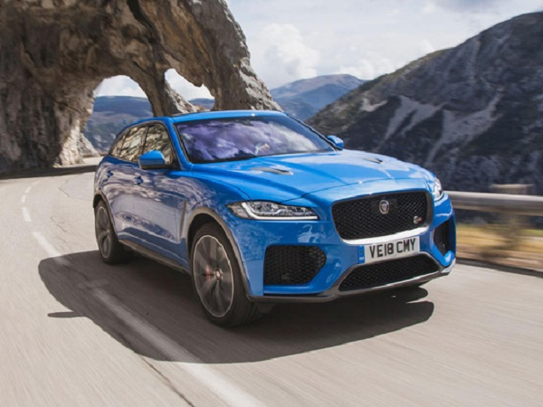 Journalists give their first impressions of Jaguar's performance SUV