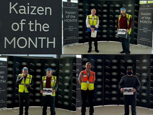 FROM DAMAGE PREVENTION TO REUSING MATERIALS, HALEWOOD'S KAIZEN OF THE MONTH