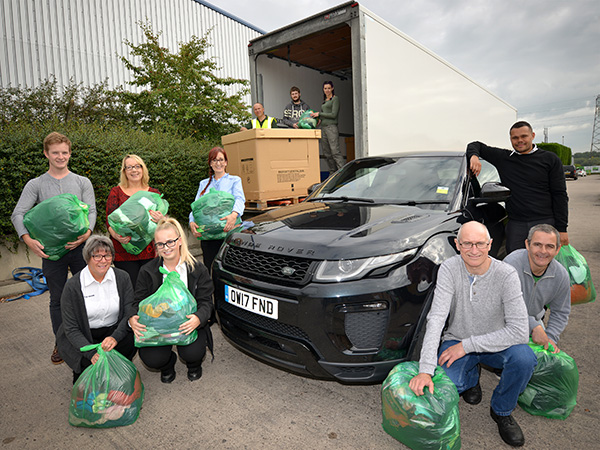 Halewood team support the Red Cross 'Shop for Grenfell' project