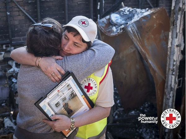 RED CROSS DISASTER RELIEF & RECOVERY - AUSTRALIAN BUSH FIRES