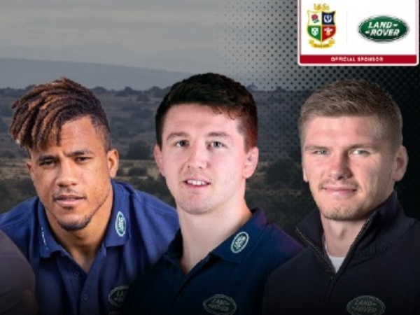 LAND ROVER ADDS TO ITS 24-YEAR PARTNERSHIP WITH THE BRITISH & IRISH LIONS