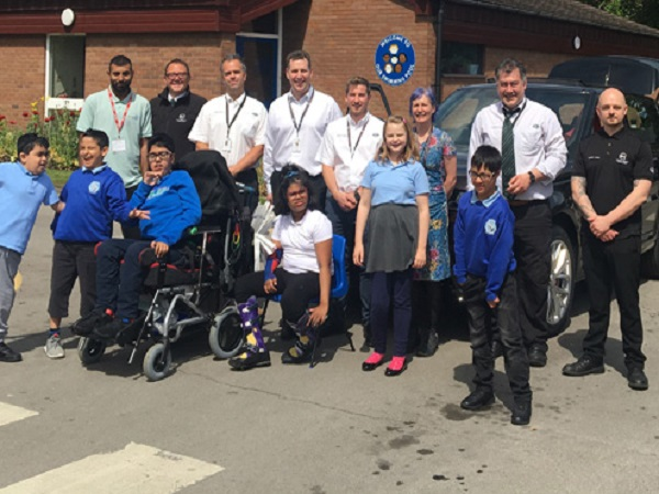 SVO brings a smile to the children of a special needs school