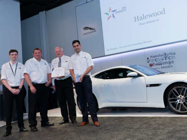 Manufacturing Innovation Challenge Inspires in Halewood