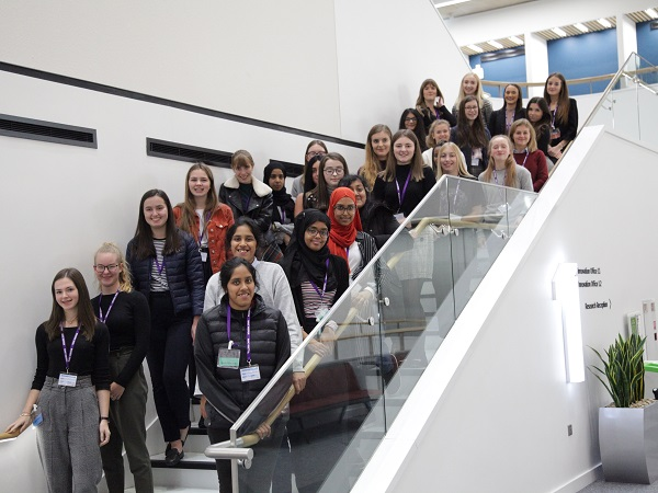 TALENTED FEMALE STUDENTS INSPIRED TO FURTHER THEIR FUTURES