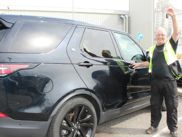 "IT COULD ""APP-EN"" TO YOU! HALEWOOD'S FIRST ""YOUR JLR"" COMPETITION WINNER"