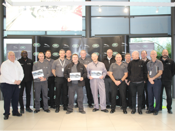 HALEWOOD CELEBRATES KAIZEN OF THE MONTH
