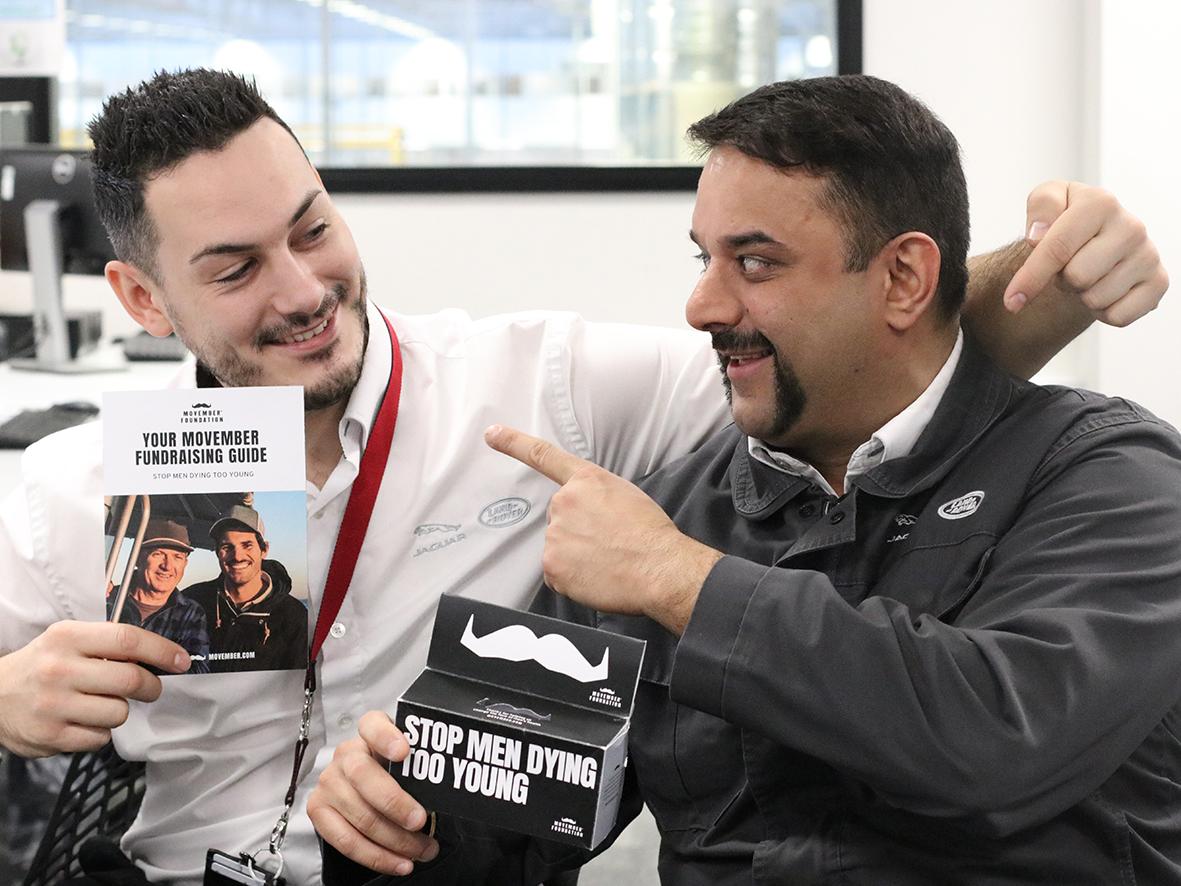 EMC face fuzz creates a buzz raising £4000 for Movember