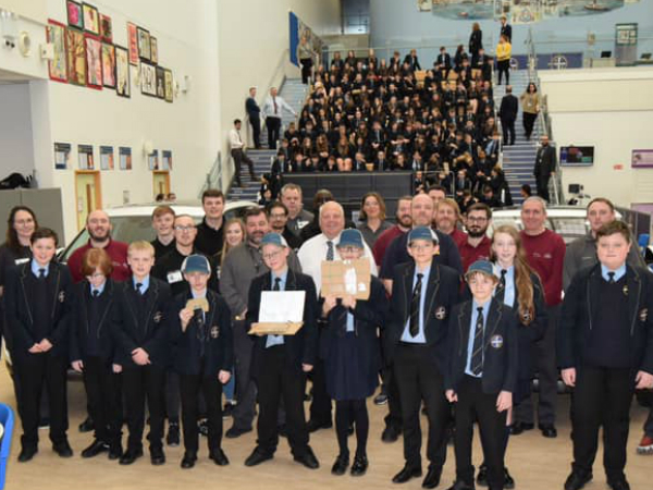 HALEWOOD DRAGONS FIRE UP LOCAL STUDENTS