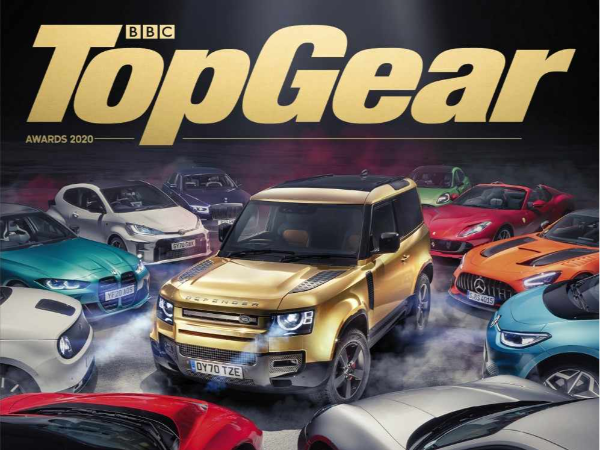 LAND ROVER DEFENDER IS TOP GEAR'S CAR OF THE YEAR