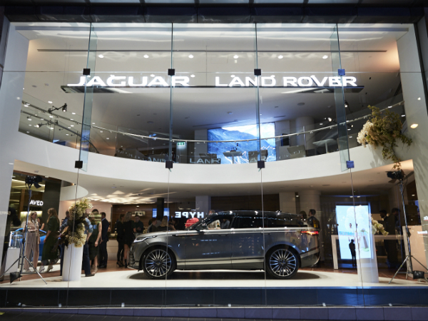 Premium JLR Retail Experience Store Opens in Sydney