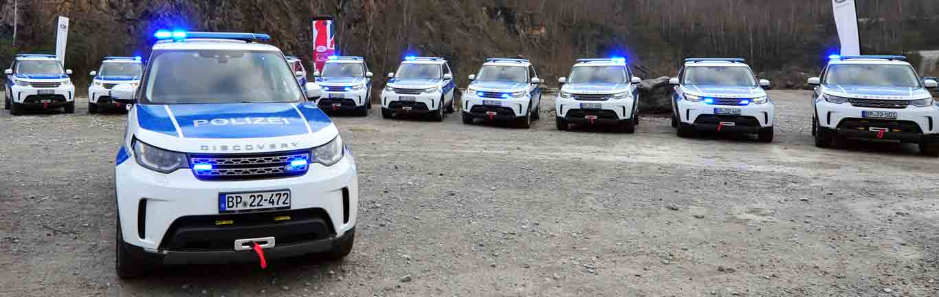 Germany's Federal Police get serious with their Discoverys