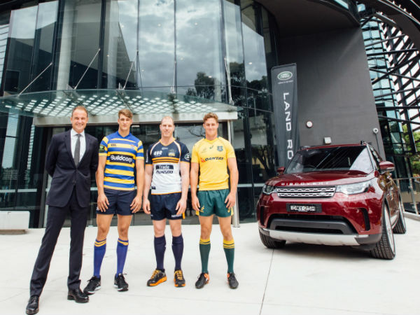The Wallabies and Land Rover complete new partnership deal