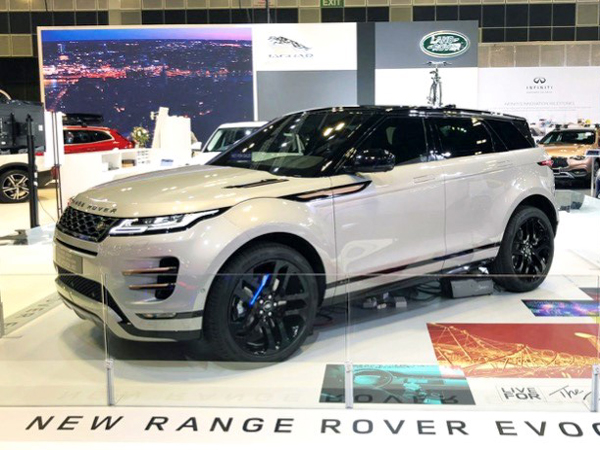 Trio of Jaguar Land Rover vehicles light up Singapore Motor Show