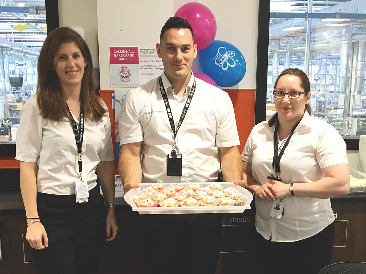 Cakes for cash in aid of Alzheimer's