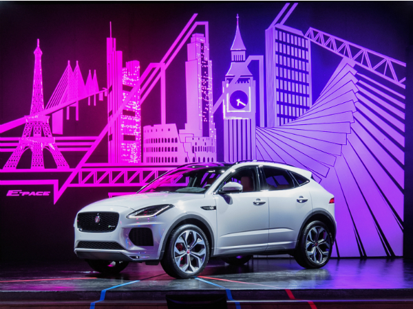 European Reveal for Jaguar E-PACE