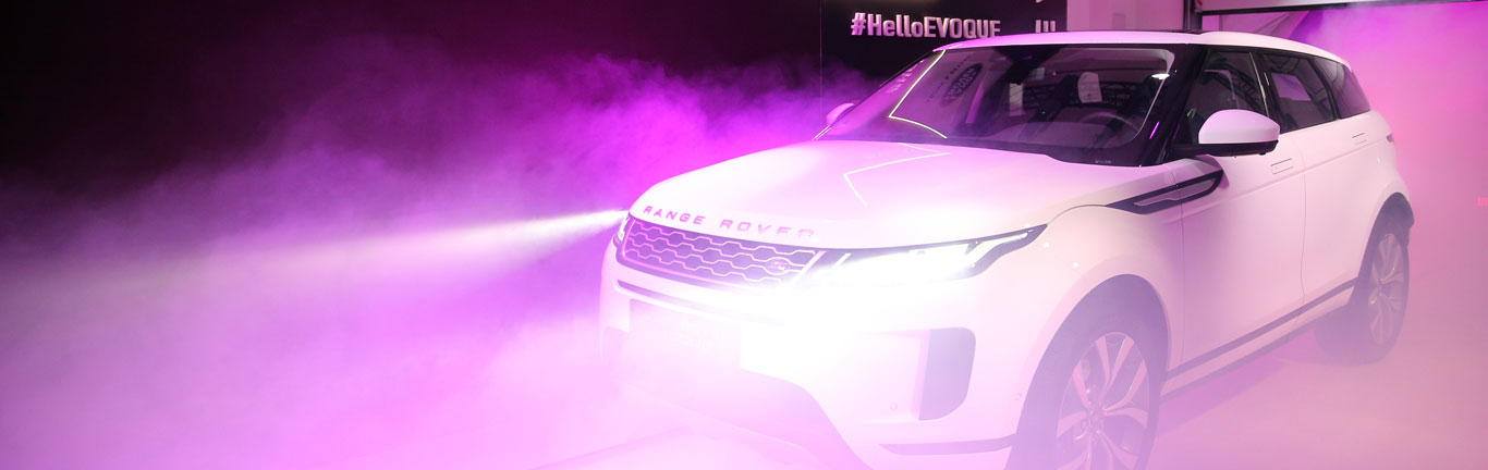 Berlin gives the new Range Rover Evoque a warm welcome