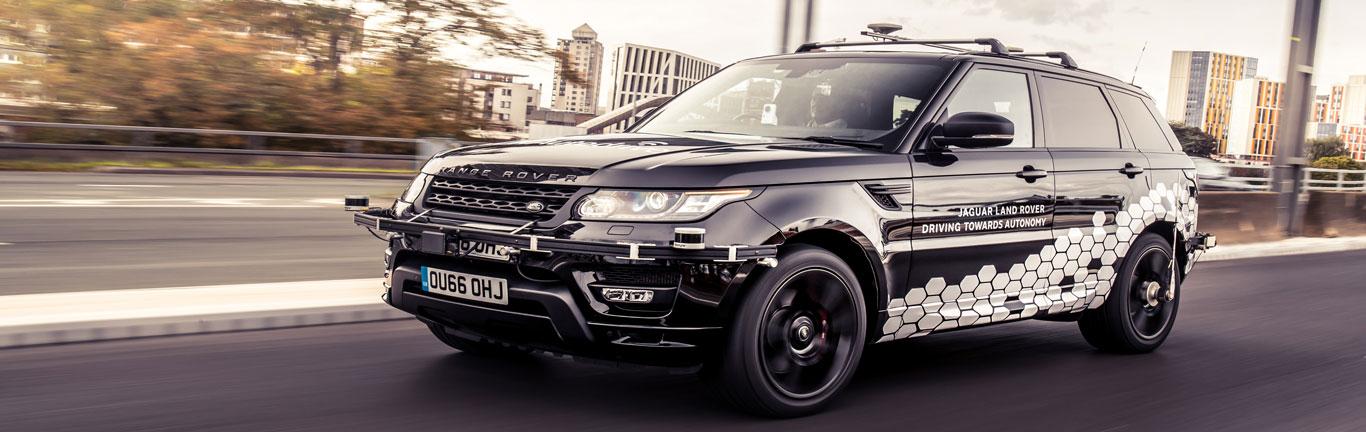 Autonomous Range Rover Sport successfully runs rings around Coventry