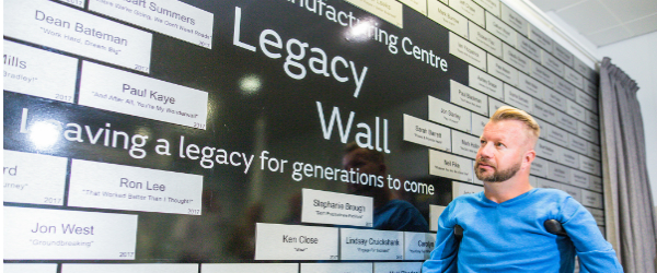 Engine Manufacturing Centre Celebrates its Legacy Wall