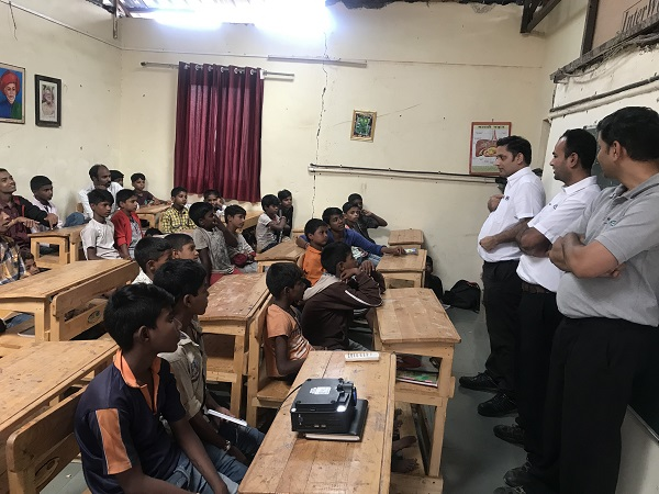 Project Pradnya supports children in Pune, India