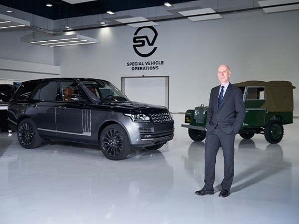 Michael van der Sande succeeds John Edwards at Jaguar Land Rover Special Operations