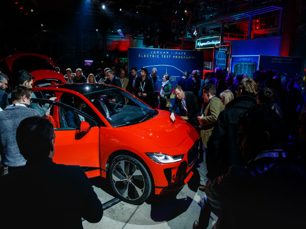 Team Talk TV goes behind the scenes at the I-PACE launch