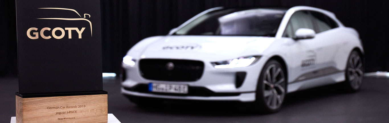 Jaguar I-PACE named 2019 German Car of the Year