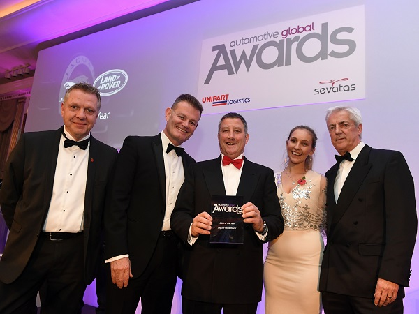 JLR scoops 'OEM of the Year Award' at Automotive Global Supply Chain Awards 2017