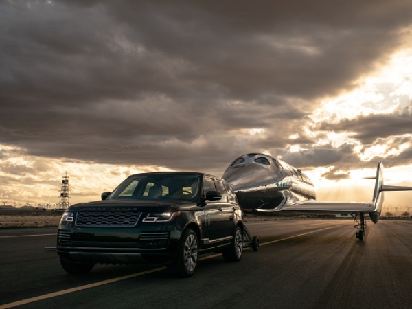VIRGIN GALACTIC AND LAND ROVER ANNOUNCE GLOBAL PARTNERSHIP EXTENSION AS NEW SPACESHIP IS REVEALED