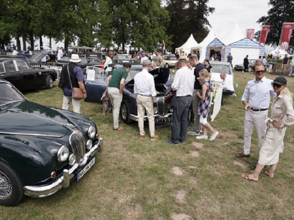 Jaguar Land Rover Classic out in force at Germany's Goodwood