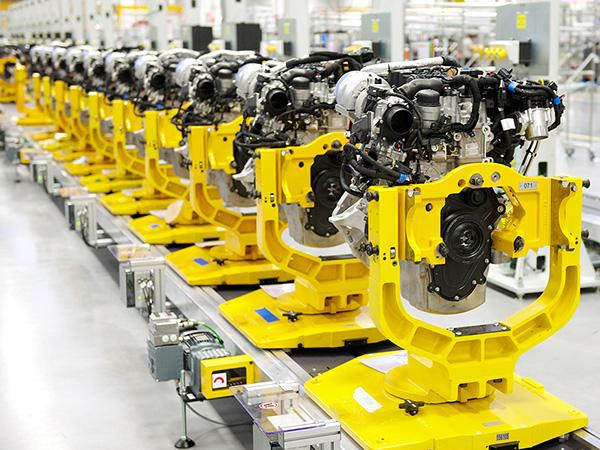 EMC celebrates 500,000th diesel Ingenium engine