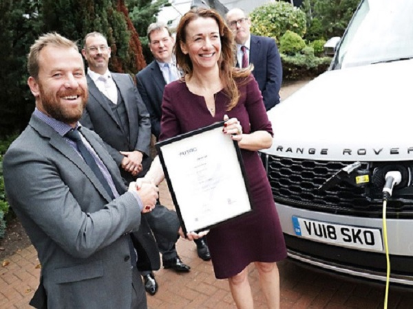 Jaguar Land Rover shows its green credentials with latest ISO 14001 standard