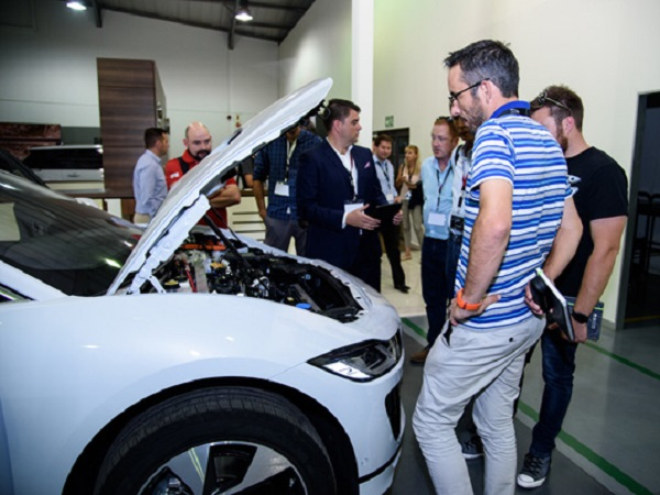 Jaguar Land Rover South Africa powers up the media for electrification