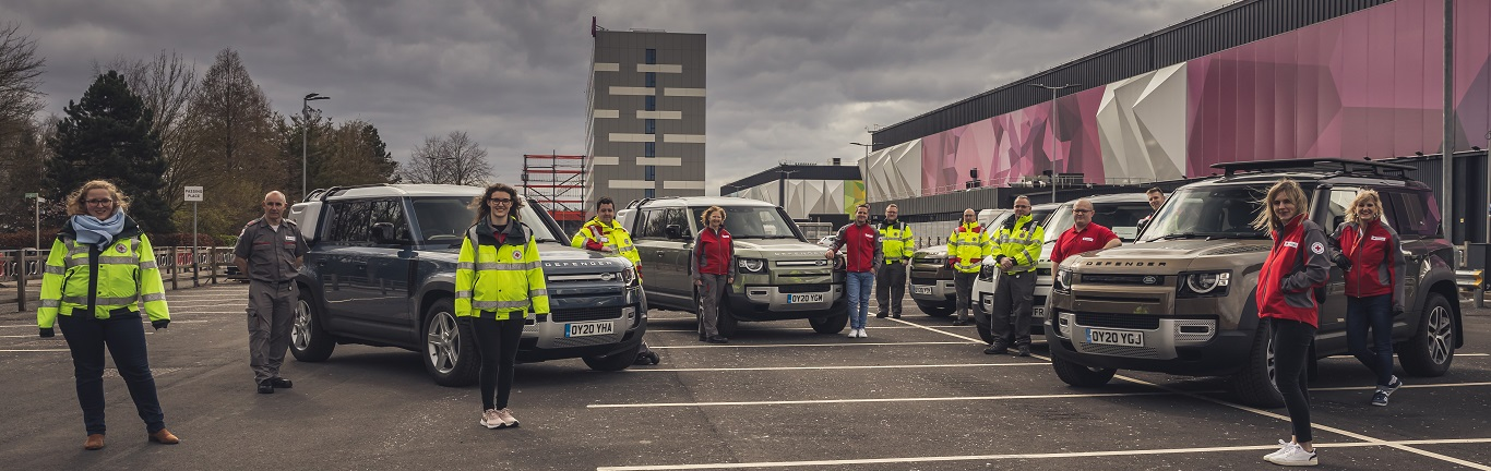JAGUAR AND LAND ROVER DEPLOY GLOBAL FLEET TO SUPPORT EMERGENCY RESPONSE PARTNERS