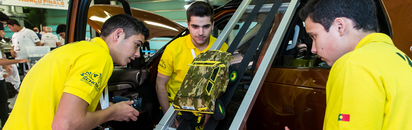Student teams battle to be Land Rover Schools Technology Challenge world champions