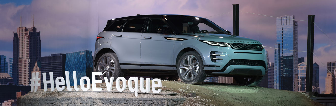 Range Rover Evoque and Jaguar I-PACE steal all the limelight at the Chicago Auto Show