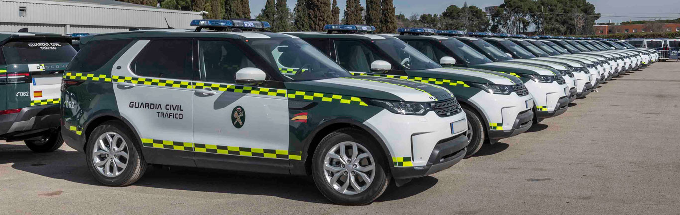 Land Rover Discovery: Helping European police forces maintain law and order